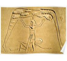 Eygptian Sand Sculpture Poster