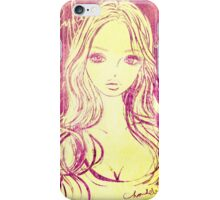 PORTRAIT 2011-2015 :GIRL iPhone Case/Skin