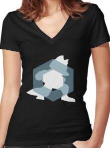 Zen Fox Women's Fitted V-Neck T-Shirt