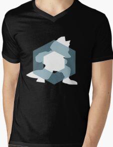 Zen Fox Mens V-Neck T-Shirt