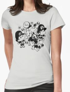 Mario Babies Womens Fitted T-Shirt