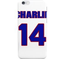 National baseball player Charlie Metro jersey 14 iPhone Case/Skin