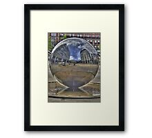 Water Sphere Framed Print
