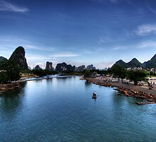 Beauty of Li River by Christopher Meder