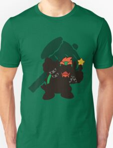Bowser (Paper Mario) - Sunset Shores T-Shirt