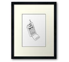 Serial Nisha Call Drawing Framed Print