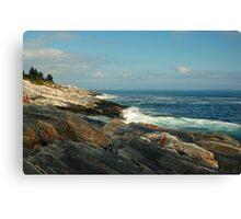 Pemaquid Coastline Canvas Print