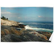 Pemaquid Coastline Poster