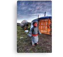 Nomad Child  Canvas Print