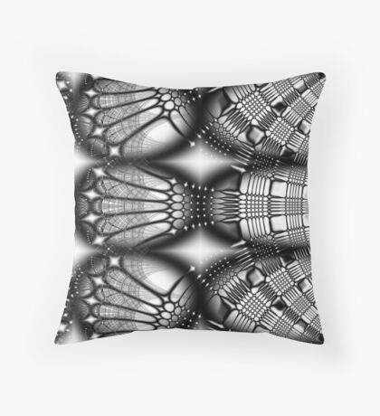 Androids Under Glass Throw Pillow
