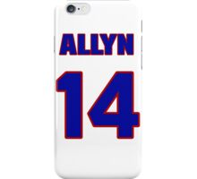 National baseball player Allyn Stout jersey 14 iPhone Case/Skin