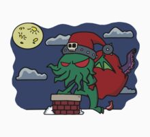 Cthulu Claus One Piece - Short Sleeve
