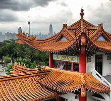 Chinese Temple, Kuala Lumpur, Malaysia by Alisdair Gurney
