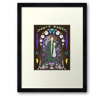 Art(hur) Nouveau - Hitchhikers Guide Framed Print