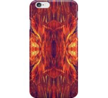 Flaming Baroque iPhone Case/Skin