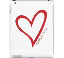 #BeARipple...Destiny Red Heart on White iPad Case/Skin