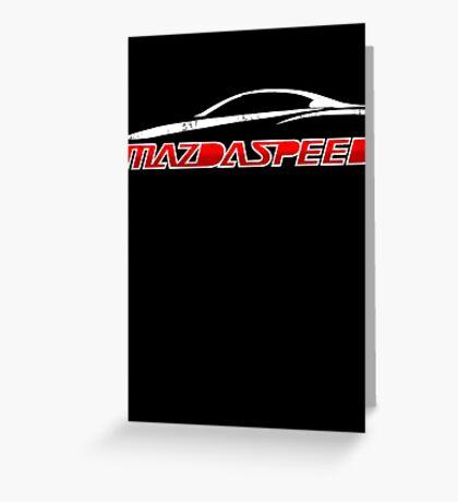 Mazdaspeed Greeting Card