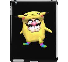 wario is into some weird stuff iPad Case/Skin
