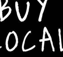 IOWA: Buy Local Sticker