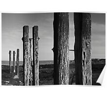 Old Posts at Whitley Bay Poster