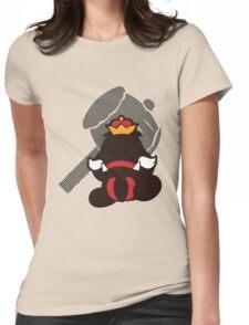 Goomboss - Sunset Shores Womens Fitted T-Shirt