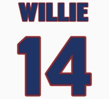 National baseball player Willie Mays jersey 14 by imsport