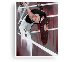 "Bray Wyatt Original Painting-""Exorcise Your Demons"" Canvas Print"