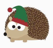 Hedgehog Christmas Elf Kids Clothes