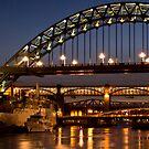 Tyne at Night by Great North Views