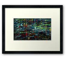 "Abstract sreies ""Reflections"" Framed Print"