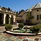 Greystone Mansion & Courtyard by Celeste Mookherjee