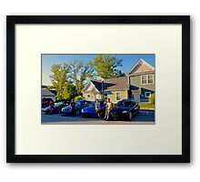 The Crew Framed Print
