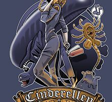 Cinderellen and the Xenomorphs by claygrahamart