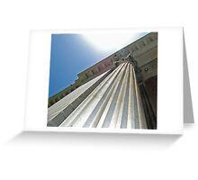 Colossal Column Greeting Card