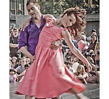 Urban moves couple Photographic Print