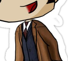 Chibi 10th Doctor in Space (Doctor Who) Sticker