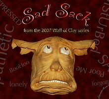 "WALL of CLAY: ""Sad Sack"" by Patricia Anne McCarty-Tamayo"