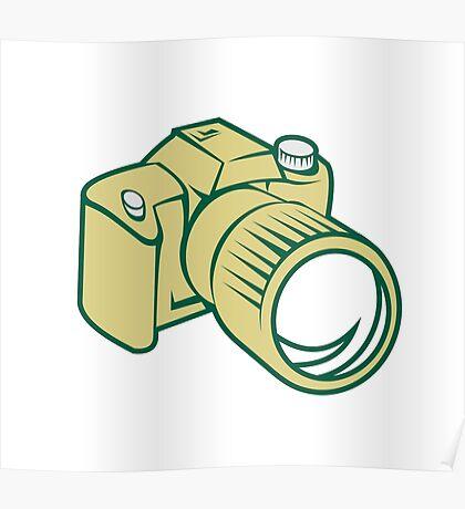 Camera DSLR Retro Poster