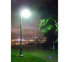 West End Overlook - Light Post Photographic Print