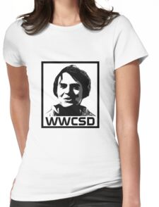 What Would Carl Sagan Do Womens Fitted T-Shirt