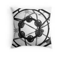 Lighting the Halls of Democracy Throw Pillow