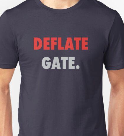 DEFLATE GATE Unisex T-Shirt