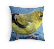 Rooftop Diner Throw Pillow