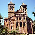 Murbach Abbey facade by Jörg Holtermann