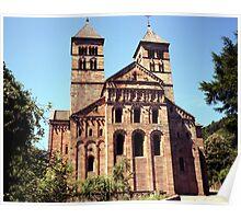 Murbach Abbey facade Poster