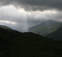 ring of kerry mnts by Edward  manley