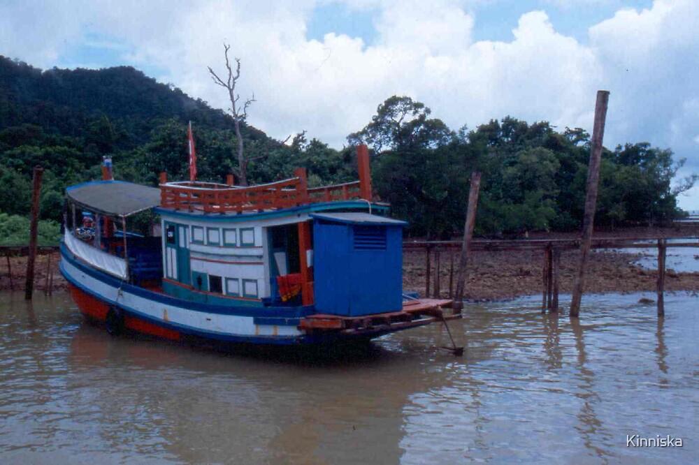 Koh Chang Ferryboat by Kinniska