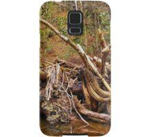 Drift wood in a river Samsung Galaxy Case/Skin