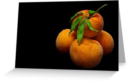 Orange Peaches by jerry  alcantara