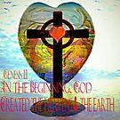 Genesis 1:1 (Art and Writing) by Charldia